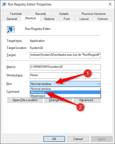 Cách tạo Shortcut tắt UAC trên Windows bằng Task Scheduled 32