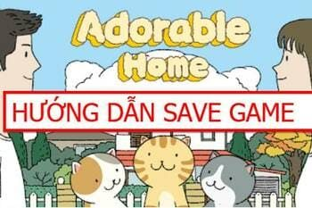 SAVE GAME ADORABLE HOME