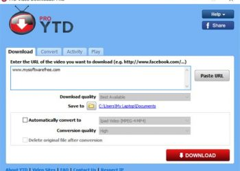 YTD VIDEO DOWNLOADER pro full key