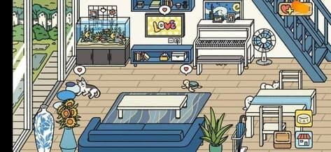 Các mẫu trang trí Phòng khách đẹp trong Adorable Home 7