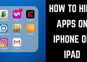 giấu app đã cài trên iphone