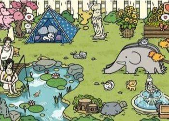 Cách trang trí vườn để thu hút khách trong Game Adorable Home 5