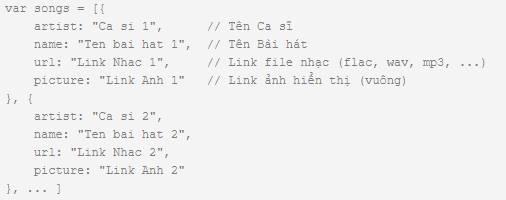 Download Code Nghe nhạc Online bằng HTML, CSS, JS 7