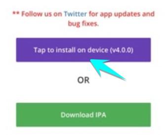 install unc0ver 4.0 trên safari