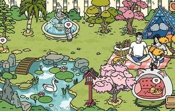 trang trí vườn cắm trại adorable home