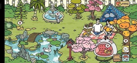 mẫu trang trí vườn vào mùa xuân