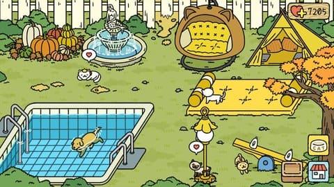 cách trang trí vườn adorable home tông vàng