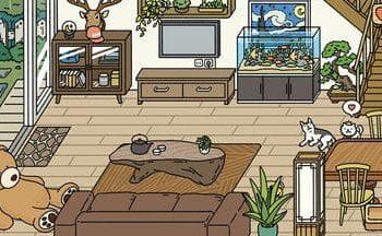 Các mẫu trang trí Phòng khách đẹp trong Adorable Home 2