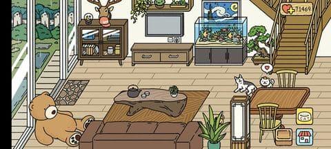 Tông nhà màu gỗ Adorable Home