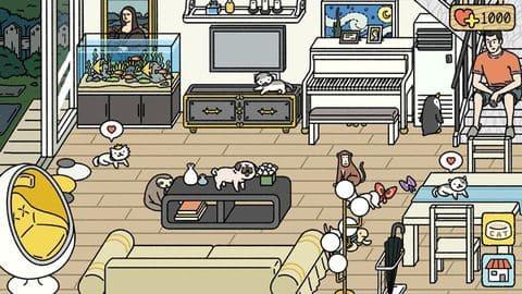 Phòng khách có chim cánh cụt đến ăn cắp đồ =))
