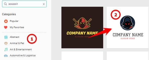 Hướng dẫn thiết kế Logo Online với DesignEvo