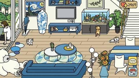 Các mẫu trang trí Phòng khách đẹp trong Adorable Home 6