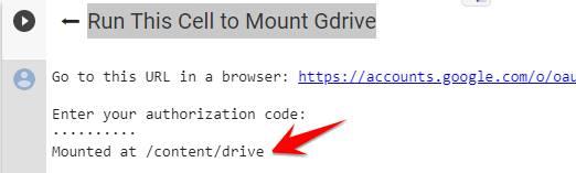 Hướng dẫn dùng Colab để Download File về Google Drive 9
