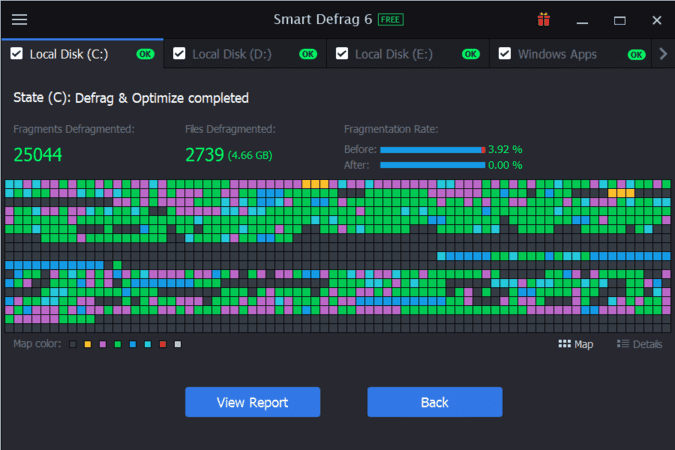 Download Smart Defrag 6 Pro Full License Key - Chống phân mảnh ổ đĩa 3
