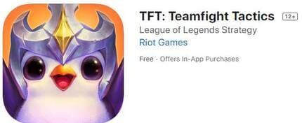 Download TFT Teamfight Tactics trên iOS