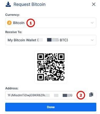 cách lấy địa chỉ ví bitcoin để nhận tiền tamodo