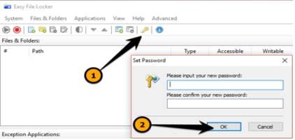 Cách sử dụng Easy File Locker Bảo vệ dữ liệu khi dùng chung máy tính với người khác