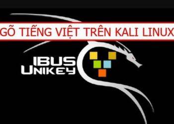viết tiếng Việt trên kali linux