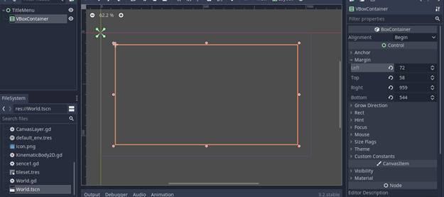 [Lập Trình Game] Bài 9: Tạo MENU cho Game khi lập trình bằng Godot 67