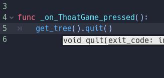[Lập Trình Game] Bài 9: Tạo MENU cho Game khi lập trình bằng Godot 119