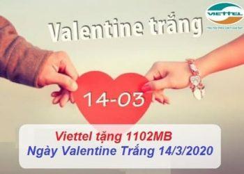 Cách nhận miễn phí Data 4G 1102Mb Viettel trong ngày 14/3/2020 2