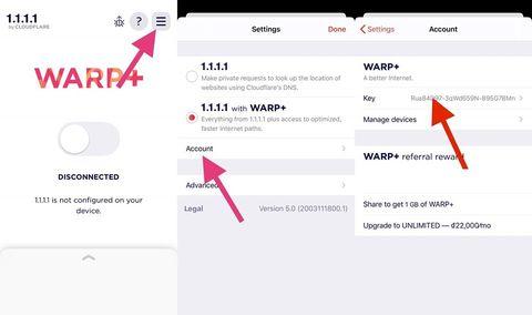 Hướng dẫn Hack Data WARP+ của App 1.1.1.1 để truy cập tốc độ cao 4
