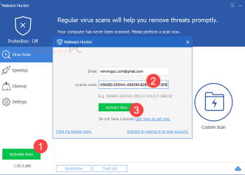 Share Key Malware Hunter Pro - Quét virus, tối ưu hóa Windows 2