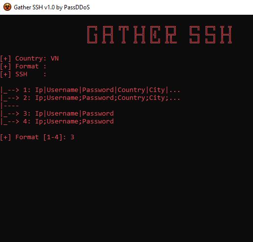 tải Gather SSH fake ip