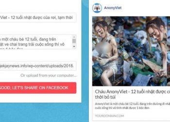 Cách Fake Ảnh và Tiêu đề Website khi đăng lên Facebook troll bạn bè 1