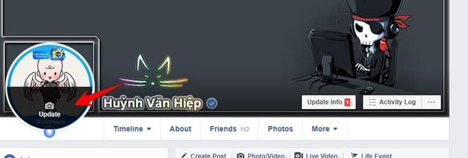 Bộ sưu tập Avatar mặc định của Facebook đã đổi ảnh nền