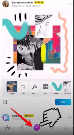 Hướng dẫn tạo ảnh ngoài khung hình điện thoại đang hot trend 38