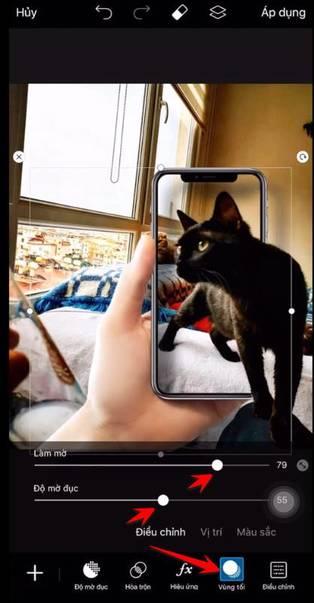Hướng dẫn tạo ảnh ngoài khung hình điện thoại đang hot trend 46