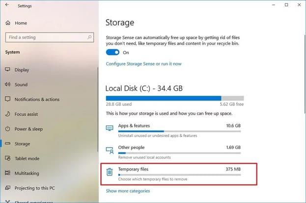 19 mẹo tăng hiệu suất PC trên Windows 10 giúp tối ưu và nhẹ hơn 6