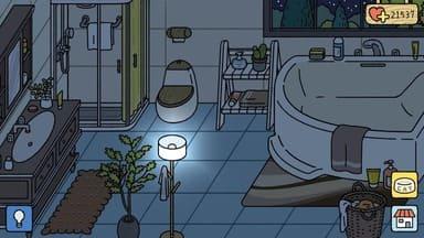 mẫu trang trí phòng tắm đẹp của adorable home