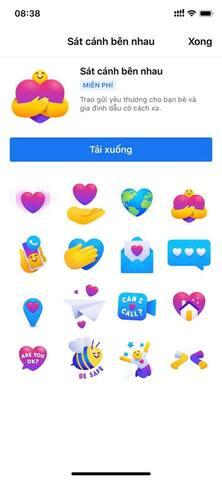 tạo biểu tượng Thương Thương chăm sóc facebook