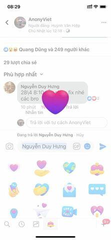 """Cách hiển thị biểu tượng """"Thương thương"""" - """"Care"""" mới của Facebook và Messenger 8"""