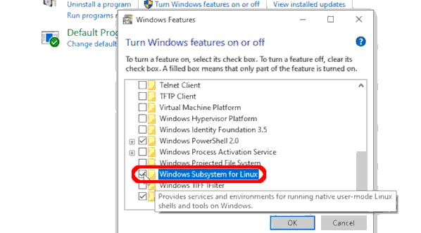 Cách Kích Hoạt Hệ Thống Con Của Windows Cho Linux - VERA STAR