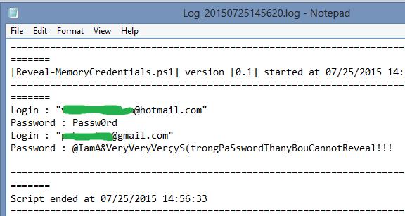 cách dùng PowerMemory xem mật khẩu windows