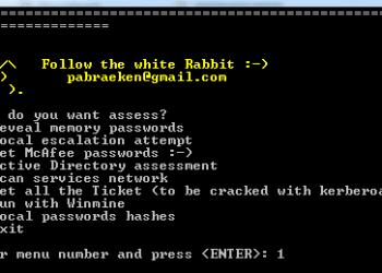 hack password windows bằng PowerMemory