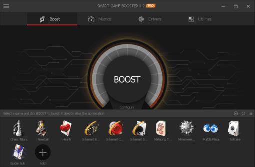 Download Smart Game Booster Full Key - Phần mềm tăng tốc chơi Game 5