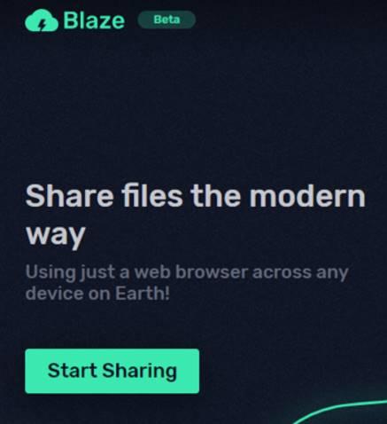 share file bằng blaze.now.sh