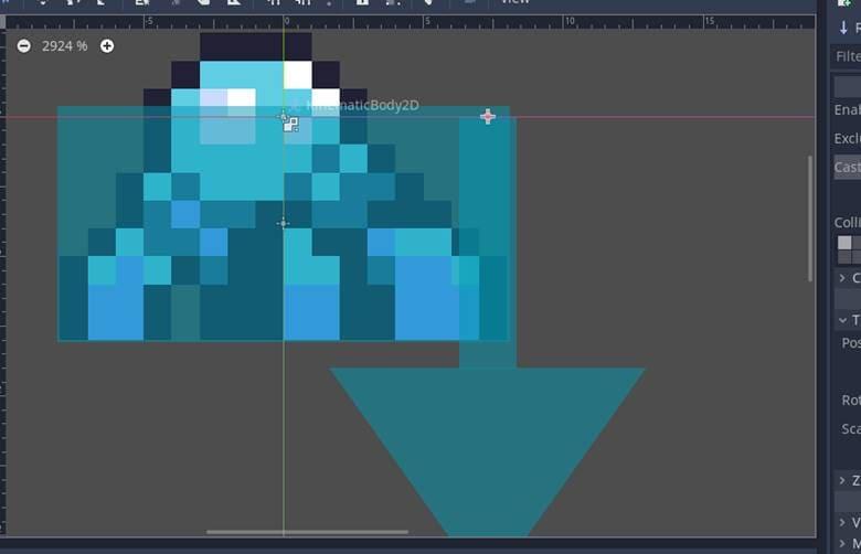 [Lập trình game] Bài 11: Kẻ Thù Raycast2D trong Godot - Phần 2 9