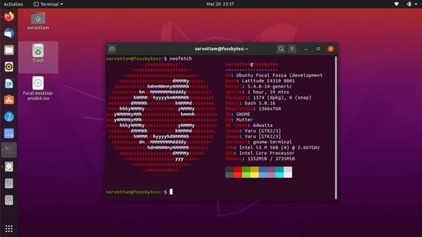 Hướng dẫn cài song song Ubuntu 20.04 với Windows 10 mới nhất 2020 31