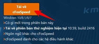 Hướng dẫn sử dụng cFosSpeed Full Key để tăng tốc độ Internet giảm lag 4