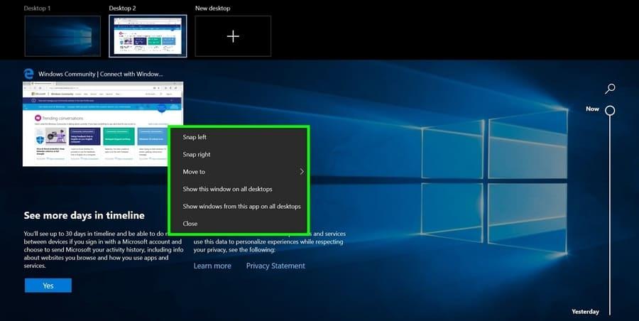 Cách sử dụng Desktop ảo trên Windows 10 để tạo nhiều màn hình Desktop 5