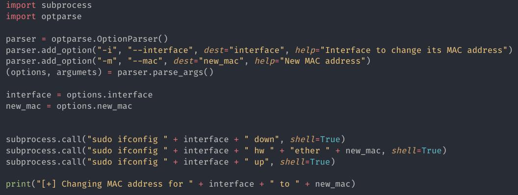 [PyHack] Bài 1: MAC là gì? Cách thay đổi MAC bằng python 13