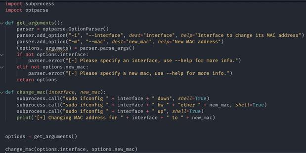 [PyHack] Bài 1: MAC là gì? Cách thay đổi MAC bằng python 17