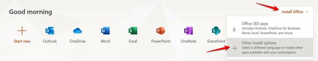 App Office 365 E3