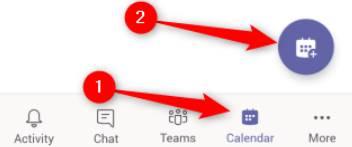 hướng dẫn sử dụng teams trên điện thoại