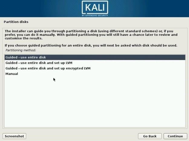 Hướng dẫn cài đặt Kali Linux 2020 và khám phá các tính năng mới 19
